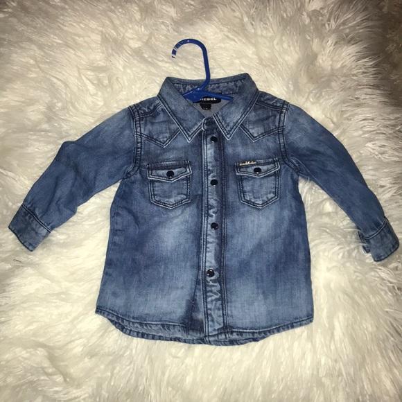 5d49f04e Diesel Shirts & Tops | Baby Demin Shirt | Poshmark